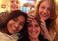 Lisa with Girls