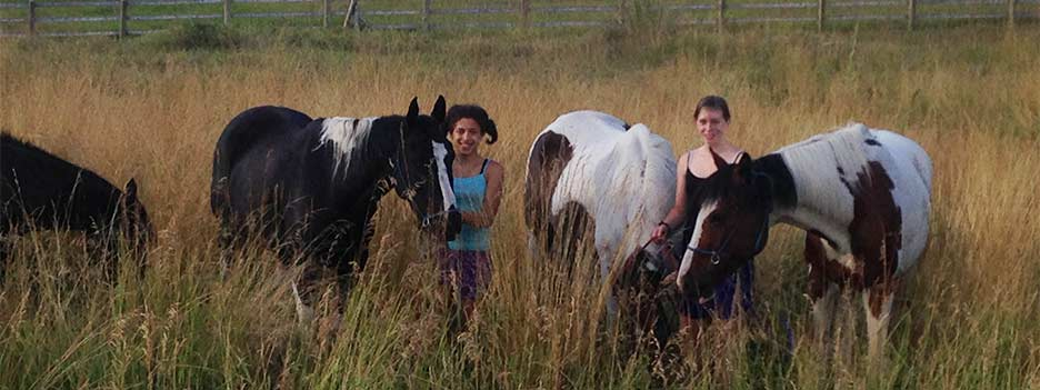 Girls with Horses